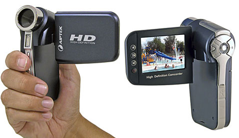 Aiptek A-HD Camcorder - самая дешевая HD видеокамера