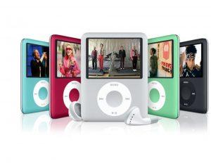 Металлические пластины в новеньком iPod