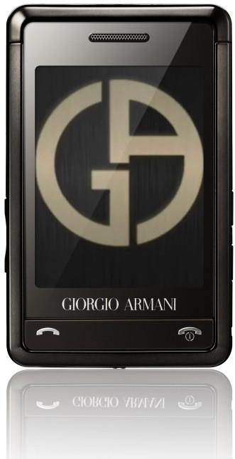Подробности про Armani-Samsung телефон