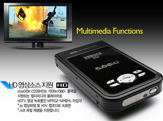 Медиа плеер Cinedisk CD26HD от Savit Micro
