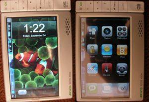 Интерфейс iPhone на Archos 605 WiFi