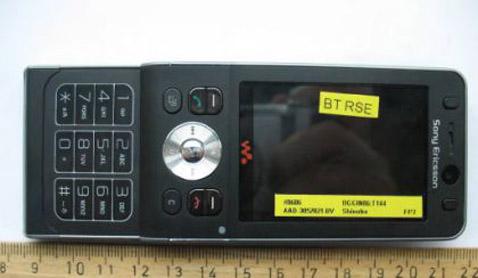 FCC утвердила Sony Ericsson W910