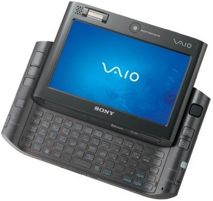 Sony обновила VAIO UX до Core 2 Solo и 64Гб SSD