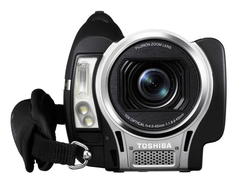 Toshiba представила новую линейку HD видеокамер Gigashot A100