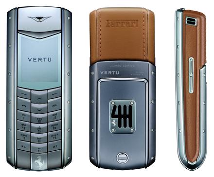 Vertu представила очередной телефон Ferrari за $25K