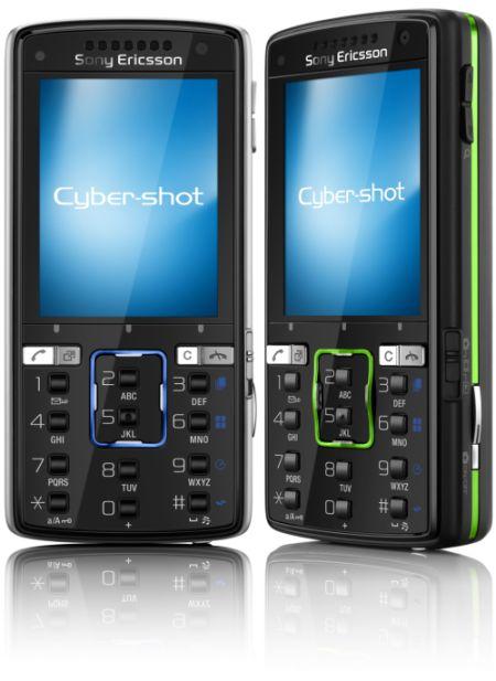 Камерофоны Cyber-shot модели W910 и K850 компании Sony Ericsson.