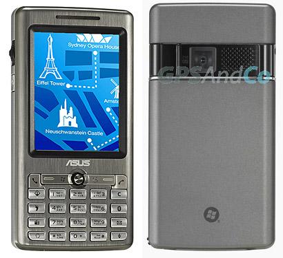 Asus представила GPS-смартфон P527