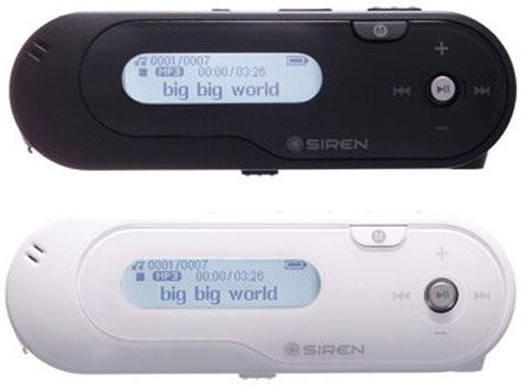 iRiver выпустила дешевый MP3 плеер Siren DP10T