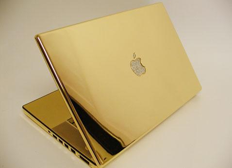 Любителям дорогих вещей - Macbook Pro в золоте