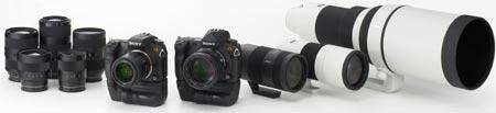 Долгожданная новая фотокамера DSLR-A700 и другие новинки Sony