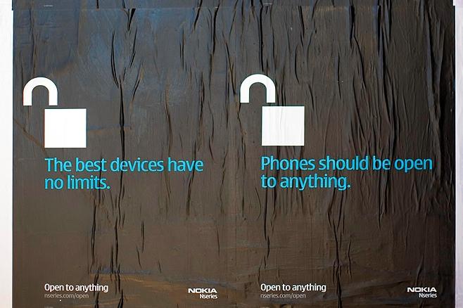 Рекламная компания от Nokia - Apple iPhone против N95
