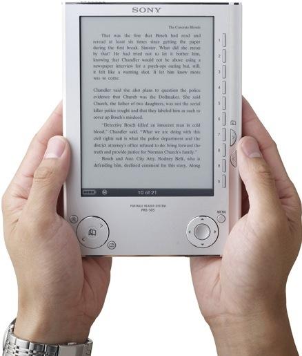 Sony выпустила электронную книгу eBook PRS-505