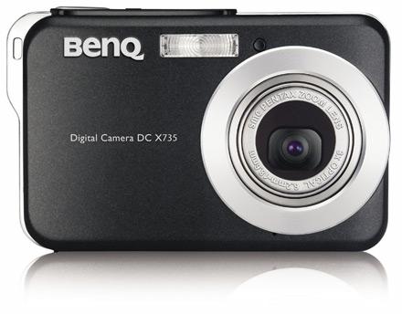 BenQ представляет ультра-компактную камеру DC-X735