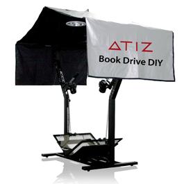 Atiz начинает выпуск книжного сканера BookSnap