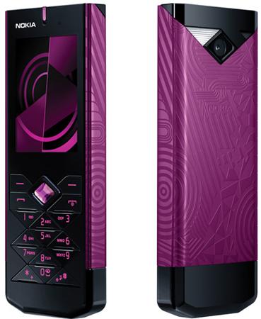 Новый Nokia 7900 Crystal Prism