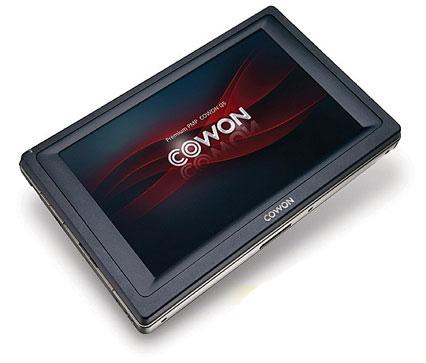 Плеер Q5W от Cowon скоро появится в продаже