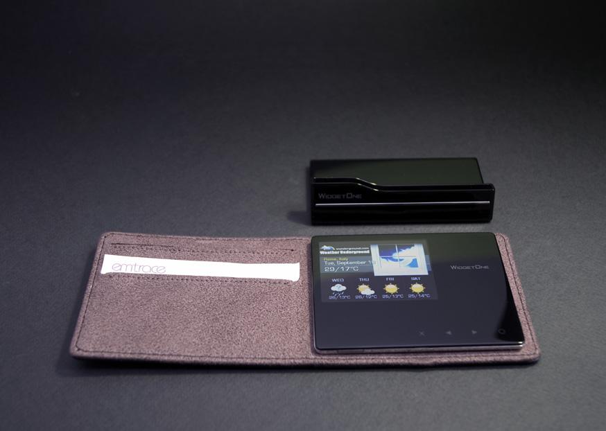 Рамки от EmTrace PS100, которые помещаются в ваш бумажник