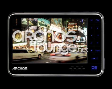 Archos 606 – первый плеер от компании с 3G-технологией