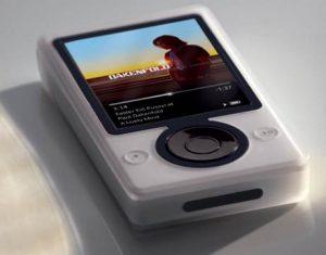 Плеер Zune 3 от  Microsoft – каникулы 2009 с Wi-Fi хранилищем музыки