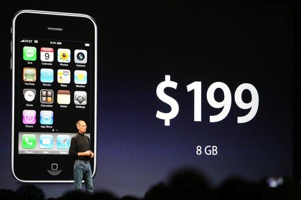 iPhone 3G оффициально запускают в продажу 11 июля за $199