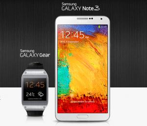 Telus 4 октября  представит Канаде Galaxy Note 3 и Galaxy 3 Gear