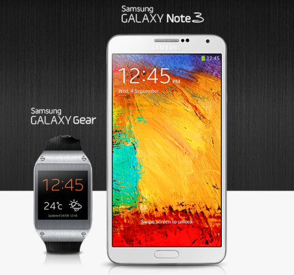 Galaxy Gear / Note 3