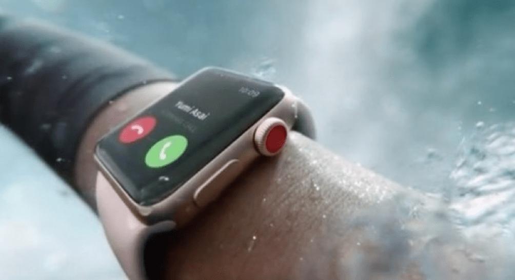 водонепроницаемые apple watch 3