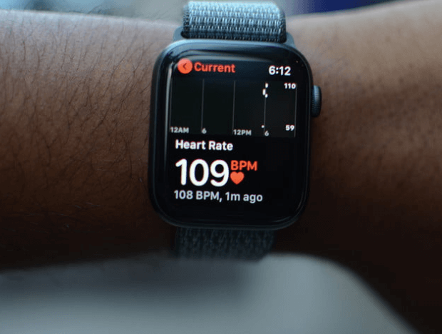 сердцебиение в Apple Watch