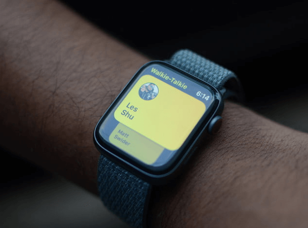 walkie talkie в apple watch