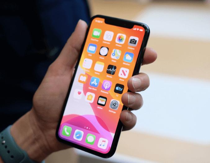 iphone 11 экран
