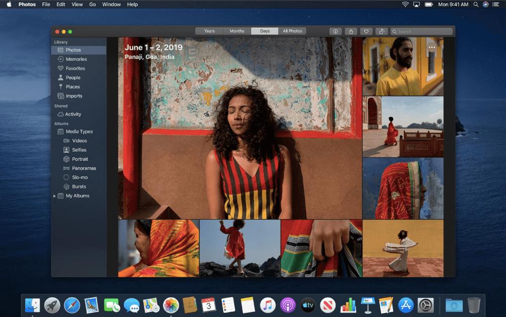 Photos в новой macOS