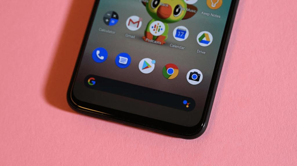 экран смартфона Pixel 4